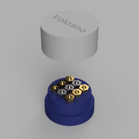 Download free 3D printer files Nozzle box (Volcano), RClout3D