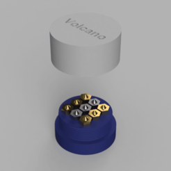 archivos 3d Caja de boquillas (Volcano) gratis, RClout3D