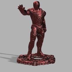 Impresiones 3D gratis Iron Man Voronoi!, jeff_vaesken