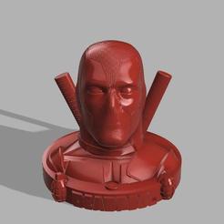 Free 3d model DeadPool, aadeco701