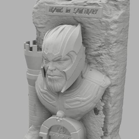 Thanos the sanctuary 4.jpg Download free STL file Thanos: The sanctuary! • 3D printer template, jeff_vaesken