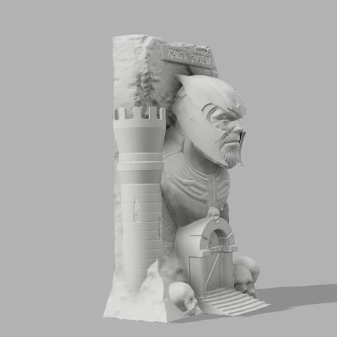 Thanos the sanctuary 3.jpg Download free STL file Thanos: The sanctuary! • 3D printer template, jeff_vaesken