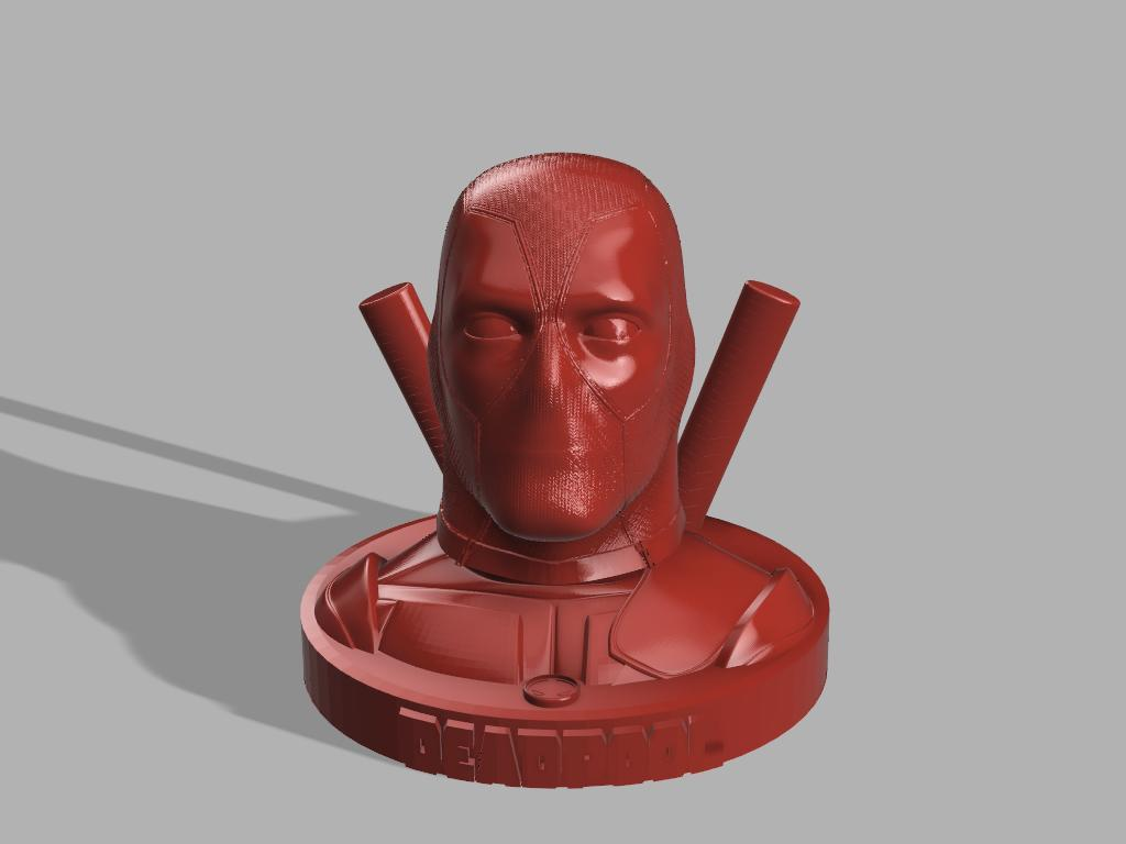 sans main et grenade .jpg Download free STL file DeadPool • 3D printer object, jeff_vaesken