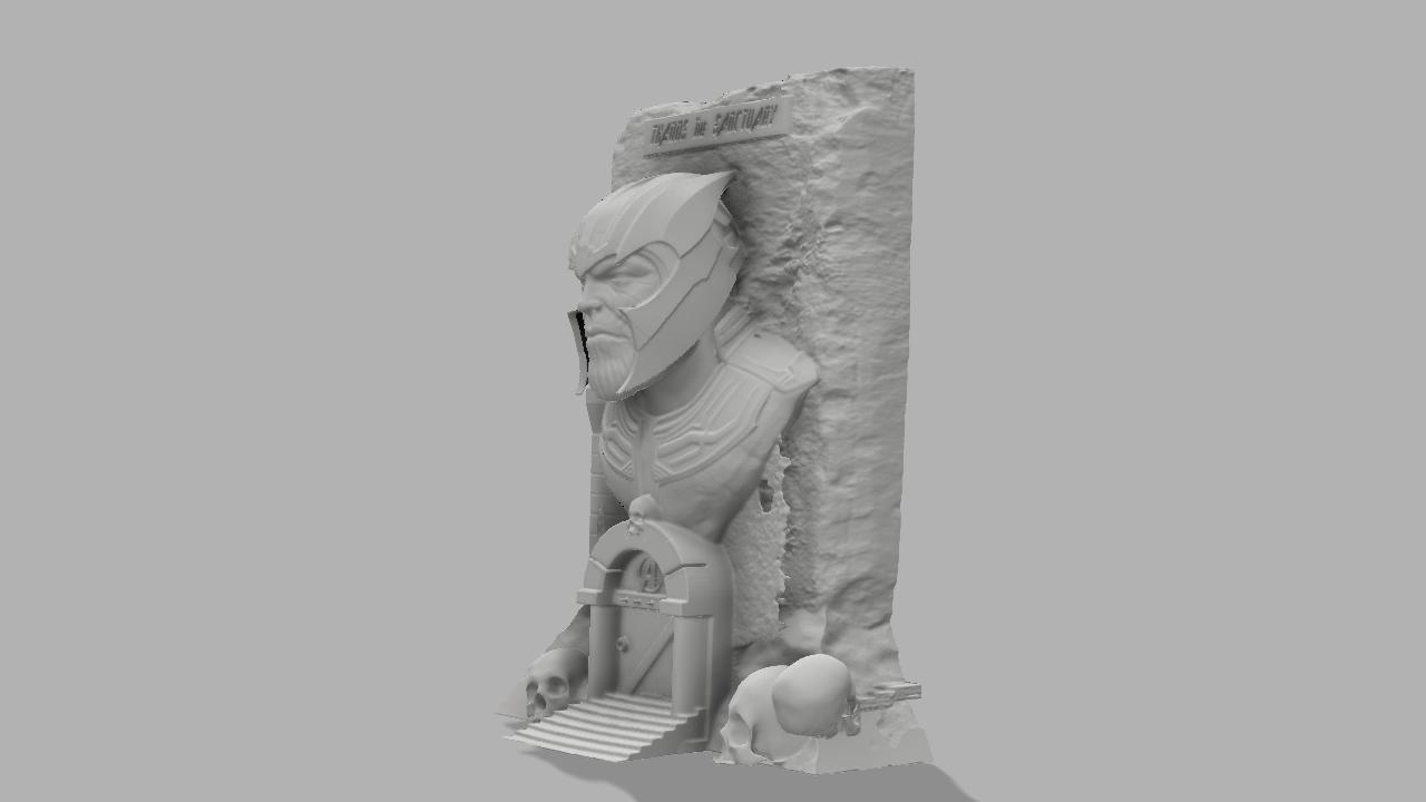Thanos the sanctuary 2.jpg Download free STL file Thanos: The sanctuary! • 3D printer template, jeff_vaesken