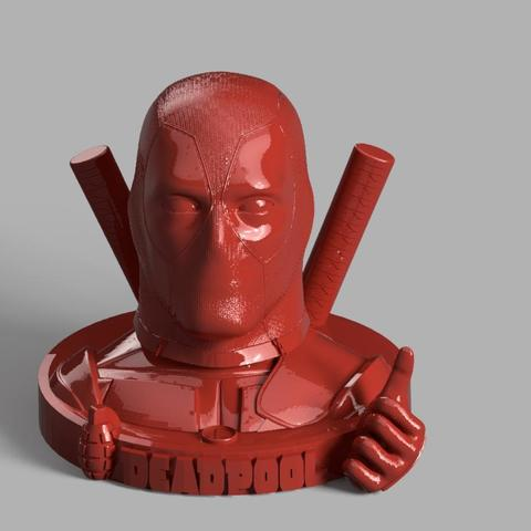 1grenade et 1main.jpg Download free STL file DeadPool • 3D printer object, jeff_vaesken