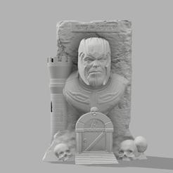 archivos stl Thanos: ¡El santuario! gratis, jeff_vaesken