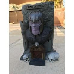 Free STL files Thanos: The sanctuary!, jeff_vaesken