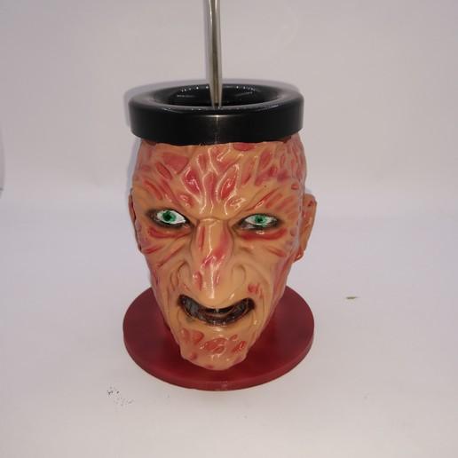 Download 3D printing models Mate Freddy Krueger, edgar14121