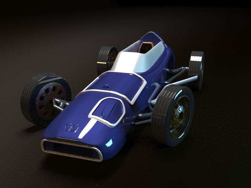 1.jpg Download free STL file Vintage race car (Saab formula) • 3D printer model, skofictadej287
