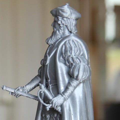 Free 3d printer designs Vasco da Gama, frederico4d