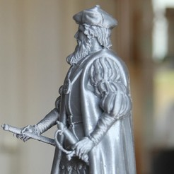Free 3D printer designs Vasco da Gama, frederico4d
