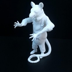 Download free 3D printer designs Mafia Rat, frederico4d