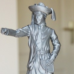Free Prince Henry the Navigator / Infante Dom Henrique 3D model, frederico4d