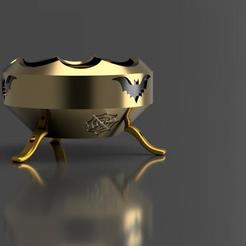 boiler 2 v1.jpg Download STL file CAULDRON FOR HALLOWEEN 2 3D MODEL • 3D print model, Castiel_cosplay