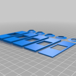 Download free 3D printing models Microscope Slide Sample Chambers and Liquid Rings, SunnyJames