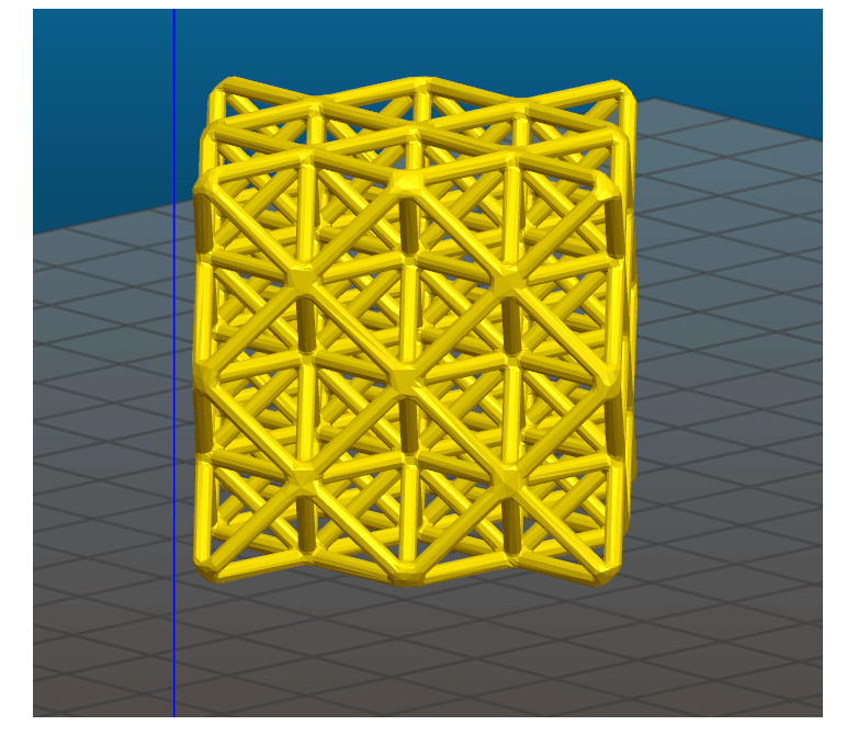 64 tetrahedron wireframe 2.png Download STL file 64 Tetrahedron Grid • 3D printing template, VertexMachine