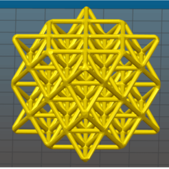 Download 3D printer files 64 Tetrahedron Grid, VertexMachine
