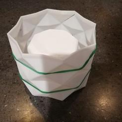3D print files Geometric Concrete Pot Mold PRO VERSION., twobob