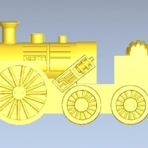2.jpg Download free STL file Stephen the Rocket (Thomas and Friends) • 3D printing design, marlene