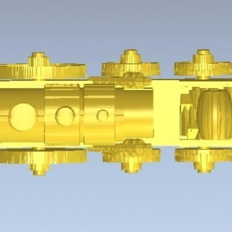 3.jpg Download free STL file Stephen the Rocket (Thomas and Friends) • 3D printing design, marlene
