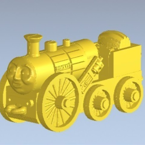 1.jpg Download free STL file Stephen the Rocket (Thomas and Friends) • 3D printing design, marlene