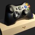 1.png Télécharger fichier STL gratuit Support manette xbox 360 • Design pour imprimante 3D, mrstaf
