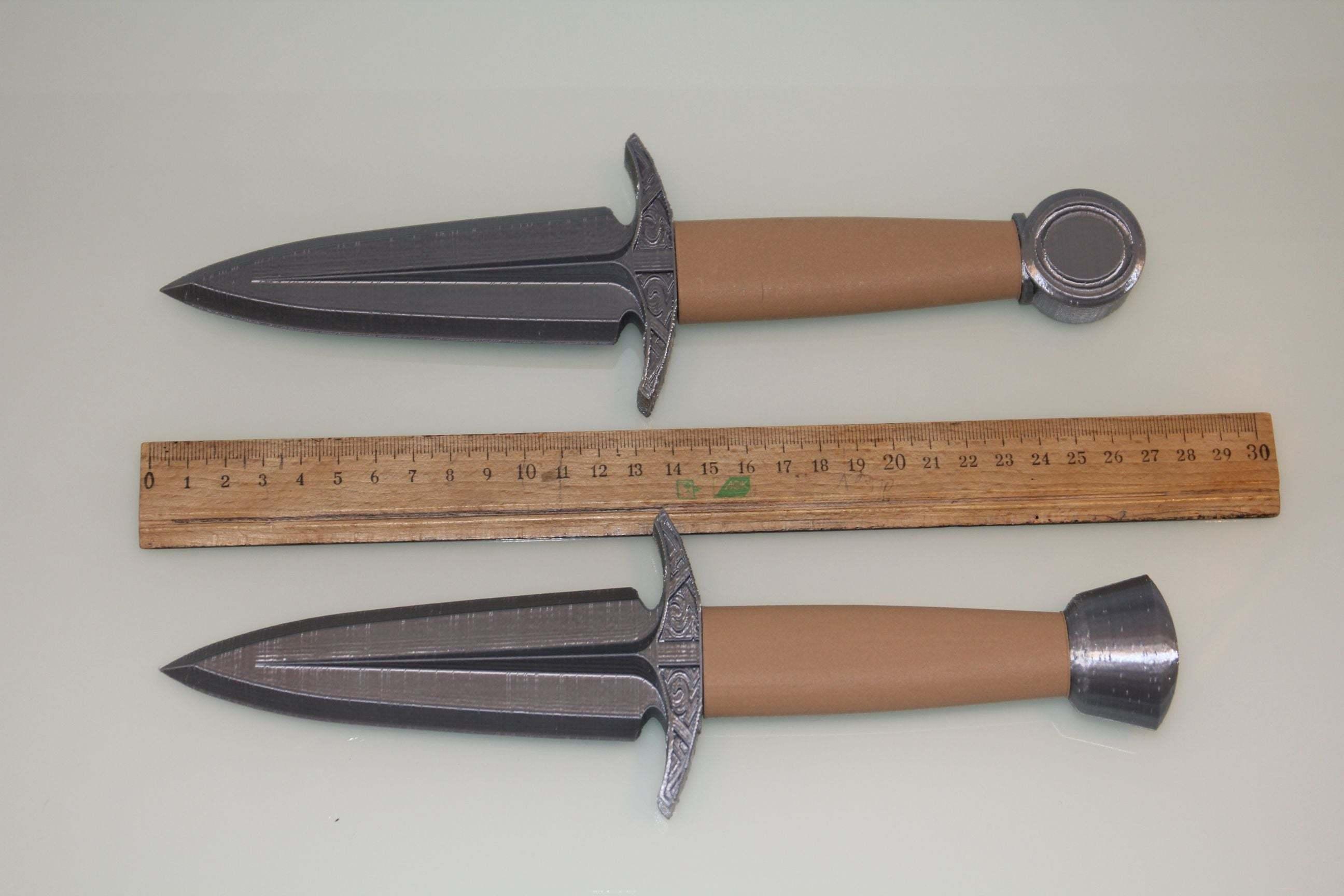 dagger10.jpg Download free STL file Dagger - easy to print, no support • 3D printable model, plokr