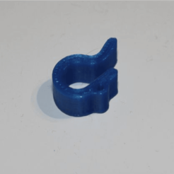 Free 3D printer file Filament Clip, plokr