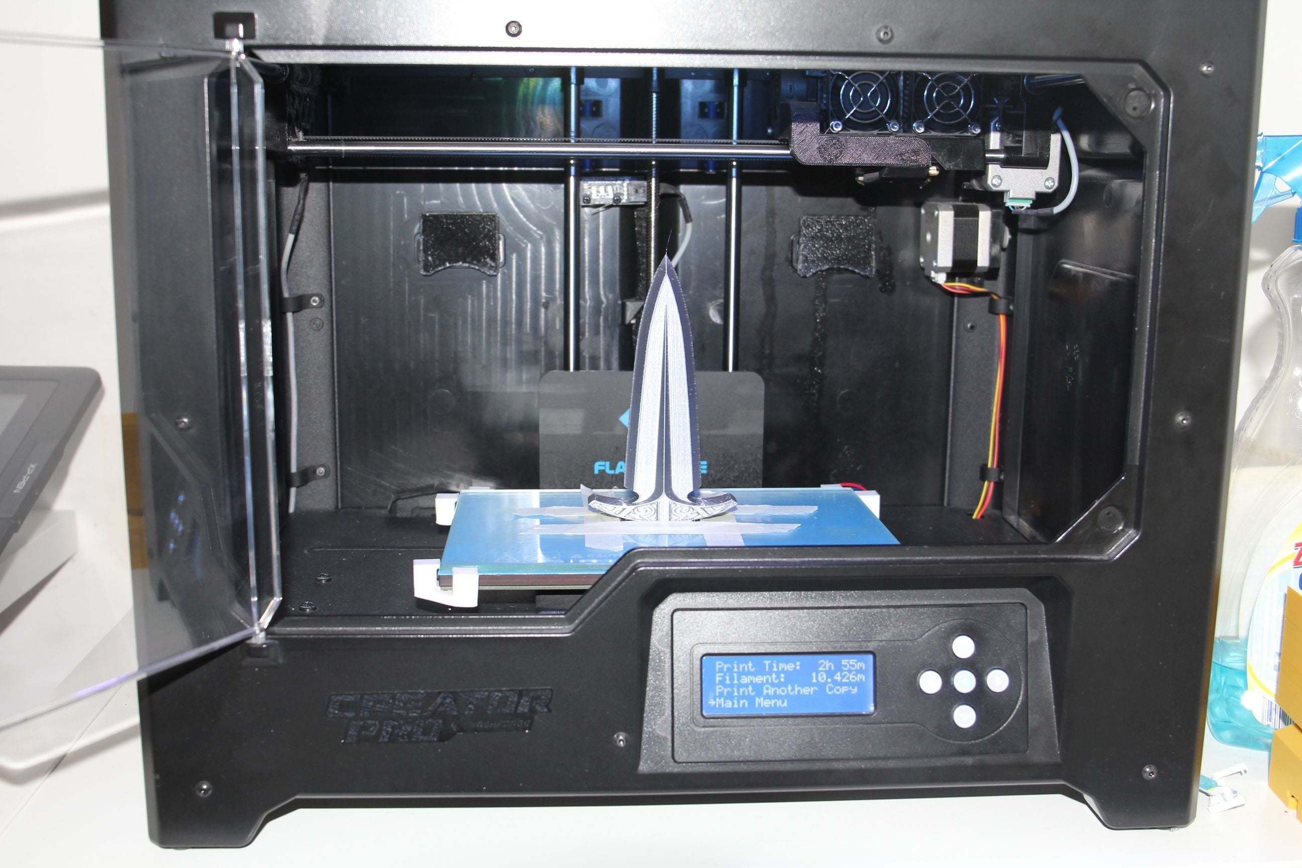 dagger1.jpg Download free STL file Dagger - easy to print, no support • 3D printable model, plokr