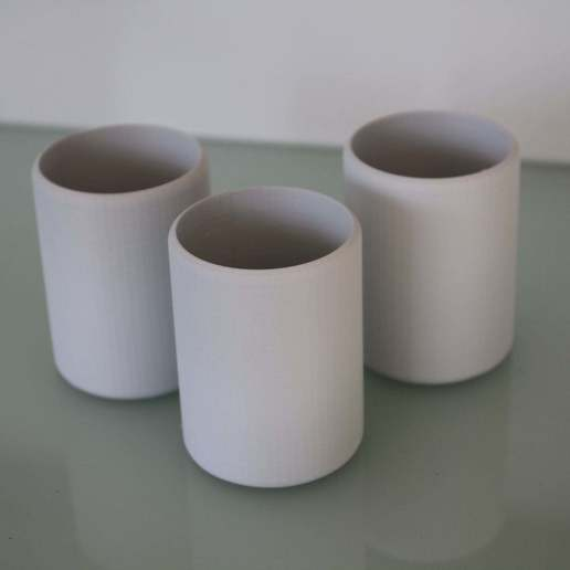 Download free 3D printer files Simple but Stylish Cup / Beaker, plokr