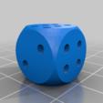 Télécharger fichier STL gratuit Dés à tricher - dés non placaristes • Objet pour imprimante 3D, plokr