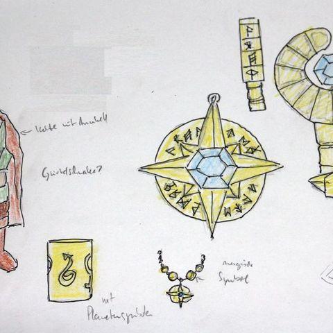 4a378bab3428c5ed6eb92fdad2d904e0_display_large.jpg Télécharger fichier STL gratuit Amulette magique pour un magicien ou un mage • Modèle pour imprimante 3D, plokr