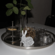 Capture d'écran 2018-04-25 à 16.23.18.png Download free STL file Grid-Bunny, stylish Easter decoration (no support) • 3D printing model, plokr