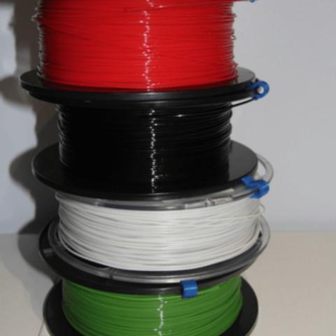 Capture d'écran 2018-04-25 à 16.27.42.png Download free STL file Filament Clip • 3D print model, plokr