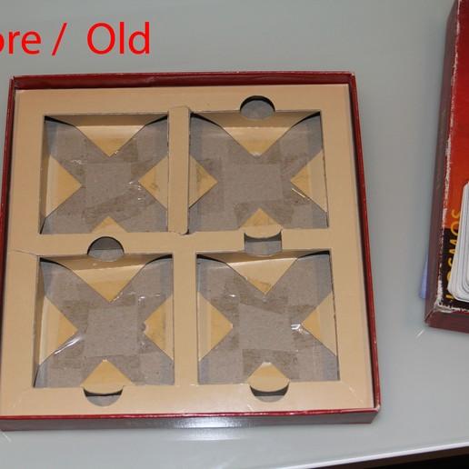 old-2.jpg Download free STL file Catan Card Game Inlay / Card Box • 3D printer design, plokr