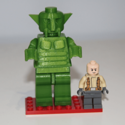 Free STL files Lego compatible Giantic Troll, plokr