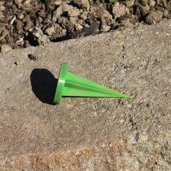 Download free STL files Garden Marker / Ground Spike, plokr