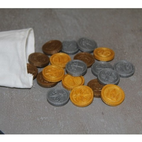 fded8a8f01440e02e5a53e458c8db64a_preview_featured.JPG Download free STL file Coins of Middle-Earth • 3D printer model, plokr
