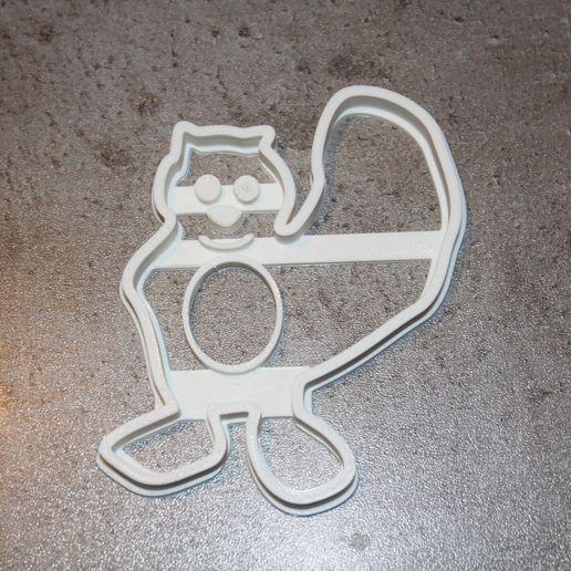 biber1.jpg Télécharger fichier STL gratuit Castor coupeur de biscuits • Objet imprimable en 3D, plokr