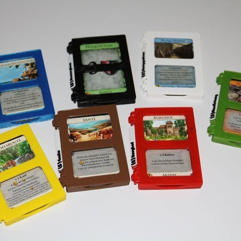 Download free 3D print files Dominion Card Cases for non-sleeved cards, stroage and gameplay, plokr