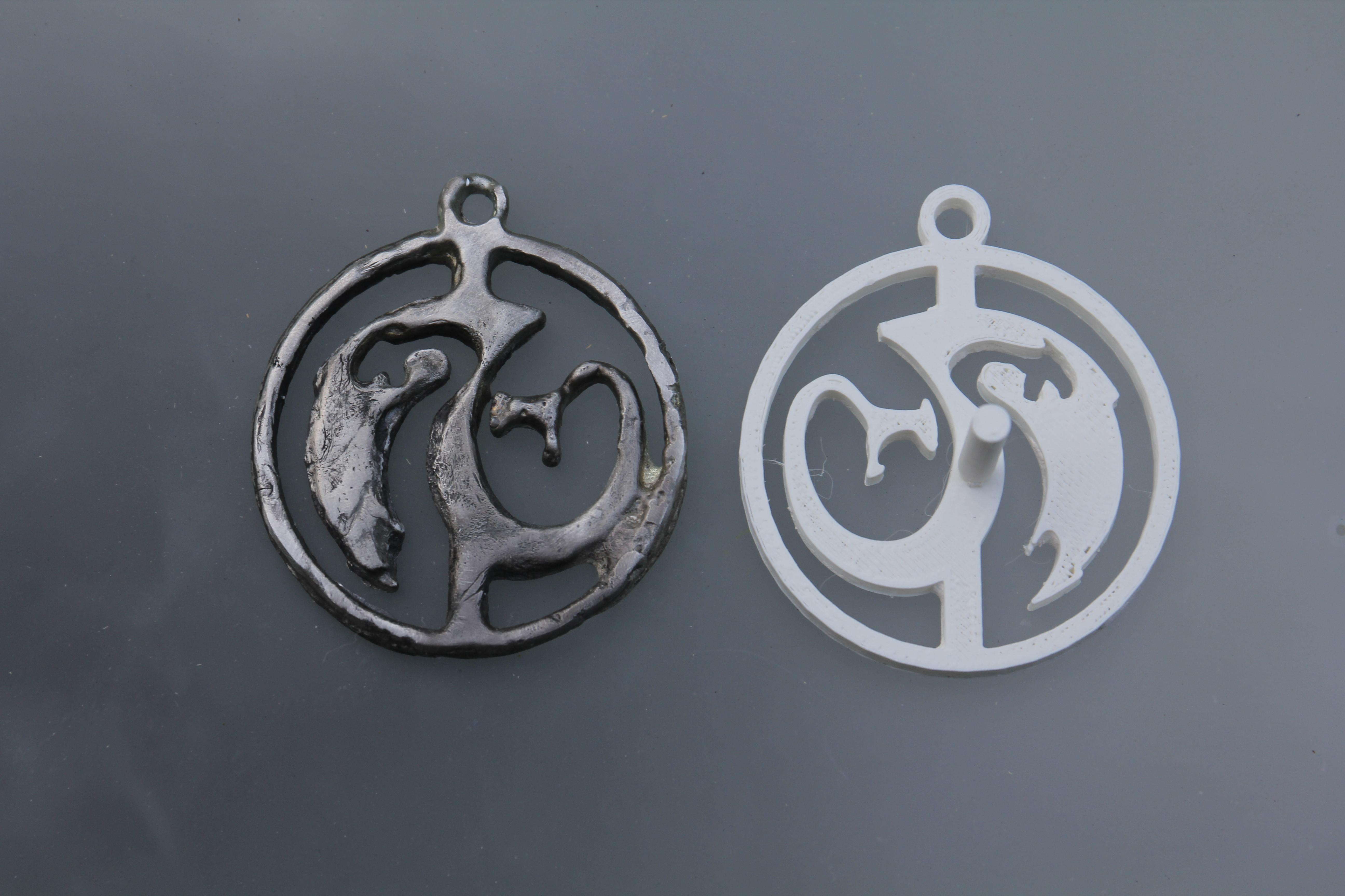IMG_8815.JPG Télécharger fichier STL gratuit Modèle d'amulette de dragon / fabricant de moules • Modèle à imprimer en 3D, plokr