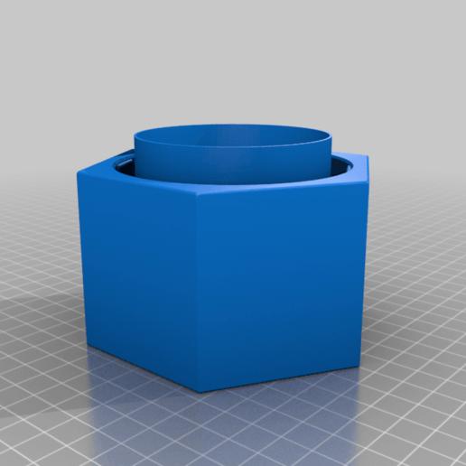 GreenhouseJar78mm.png Télécharger fichier STL gratuit Upcycle Jar Greenhouse - pour des impressions plus grandes sans support • Objet pour impression 3D, plokr
