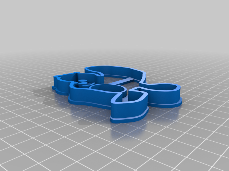Biberkeks133.png Télécharger fichier STL gratuit Castor coupeur de biscuits • Objet imprimable en 3D, plokr
