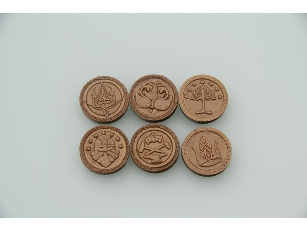 a94feae29b779071dc5000d1de9dda76_preview_featured.JPG Download free STL file Coins of Middle-Earth • 3D printer model, plokr