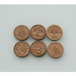 Download free STL files Coins of Middle-Earth, plokr