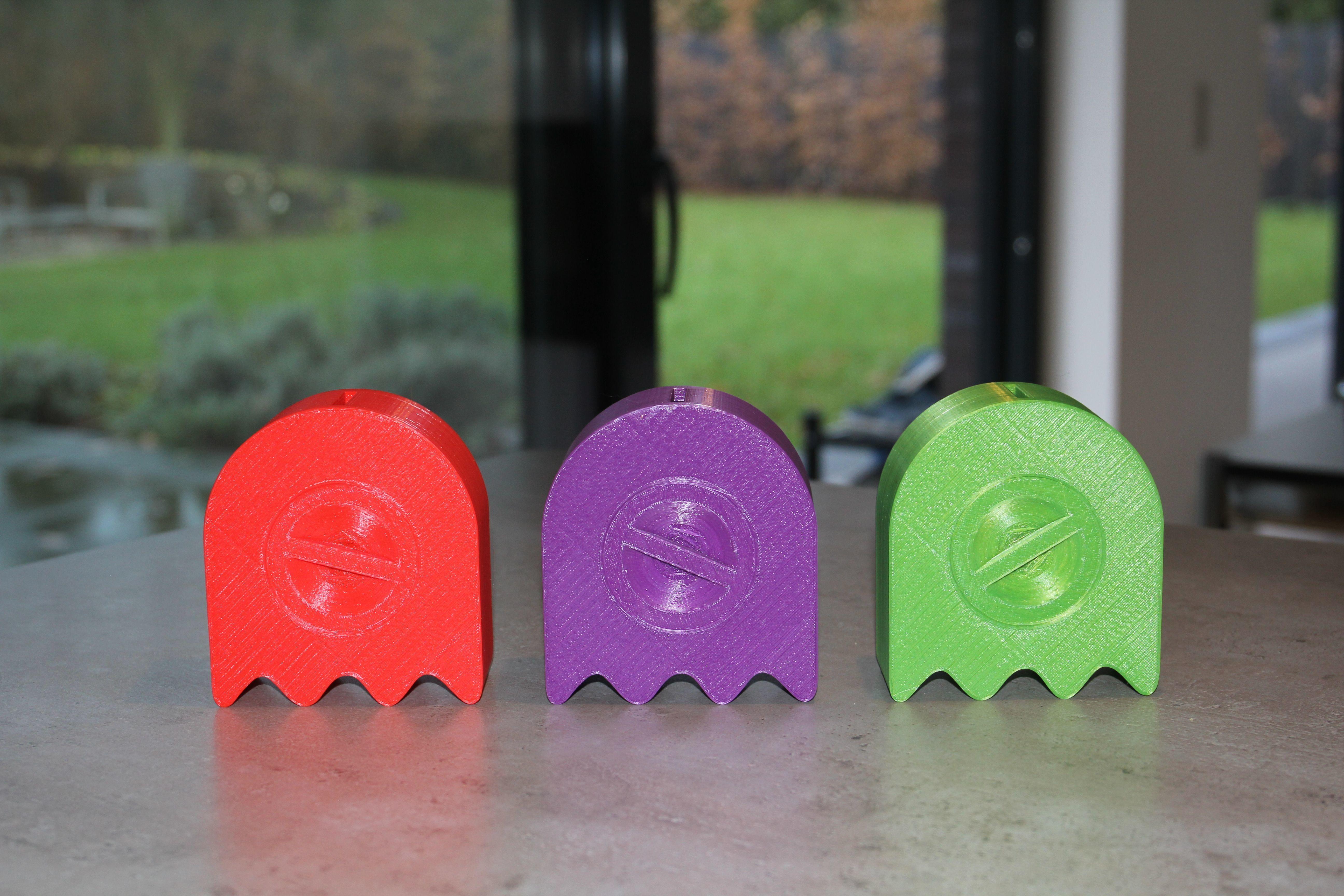 pac2.jpg Télécharger fichier STL gratuit Pac Man Piggy Bank - plus grande porte / trou / ouverture • Modèle pour imprimante 3D, plokr