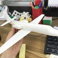 Free 3D print files Easy to print Cessna Citation SII 1/64 aircraft scale model, Chloe_G