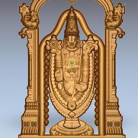 Download free 3D printing templates venkateshwara, koithoju