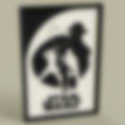 Starwars.stl Télécharger fichier STL gratuit StarWars Le retour du Jedi • Objet imprimable en 3D, yb__magiic