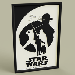 StarWars_Return_of_the_Jedi_2019-Apr-26_04-23-35PM-000_CustomizedView36363042334.png Télécharger fichier STL gratuit StarWars Le retour du Jedi • Objet imprimable en 3D, yb__magiic